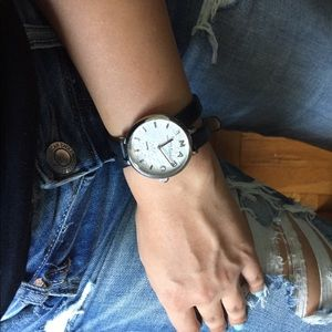 Marc Jacobs sally double wrap watch